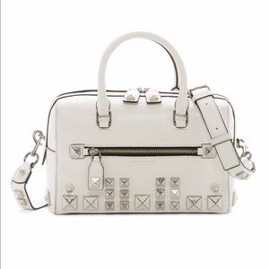 Marc Jacobs Recruit Chipped Stud Leather Bauletto